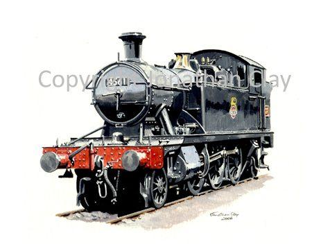 660 GWR Small Prairie No.4561