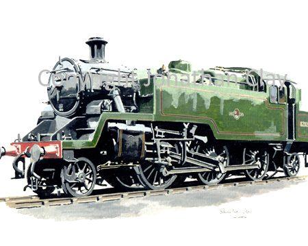 667 BR Standard Class 3 2-6-2T No.82009 (Green)