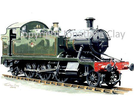 669 GWR Small Prairie No.5541
