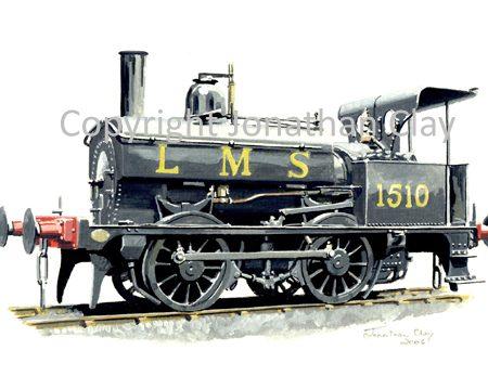 672 Ex Midland Railway 0-5-0St No. 1510