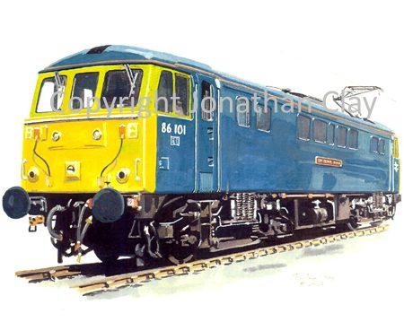 683 Class 86 Electric No. 86101