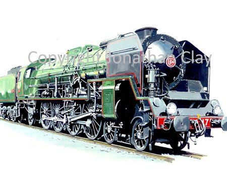 690 SNCF Class 241P 4-8-2 No.241P17