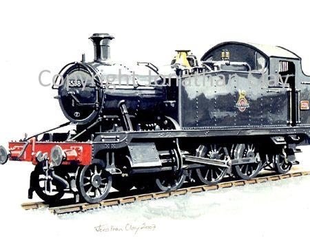 699 GWR Small Prairie No.5538