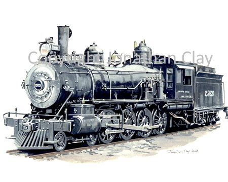 701 Southern Pacific Class TW-4 4-8-0 No.2929