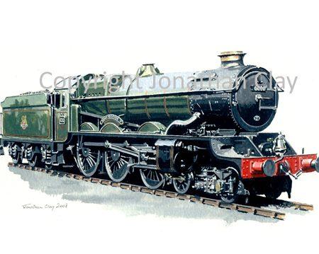 720 GWR King 4-6-0 No.6000 King George V (BR Green)