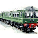 728 BR DMU Class Wickham DMU