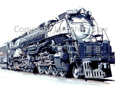 733 Union Pacific Challenger 4-6-6-4 No.3895
