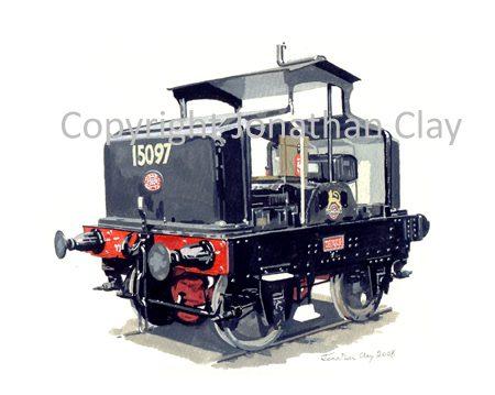 740 Simplex IC Loco 15097