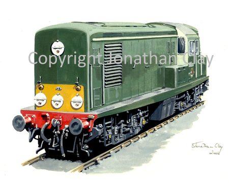 743 Class 15 Diesel Loco No. D8233