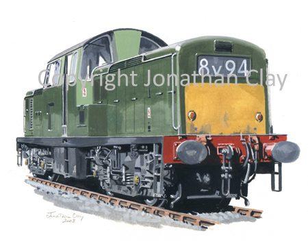 745 Class 17 Clayton Diesel