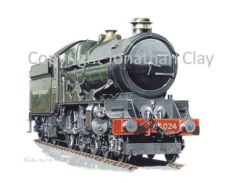 746 GWR King 4-6-0 No.6024 King Edward 1 (GWR livery)