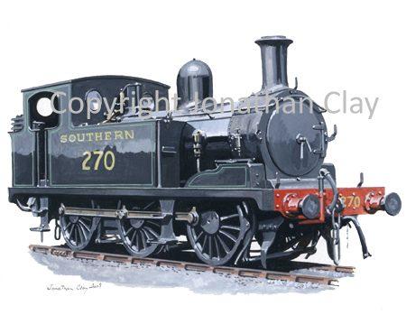 755 Ex. LSWR Class G6 0-6-0T No.270