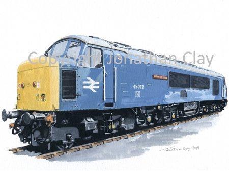 756 Class 45 'Peak' No. 45022 Lytham St. Annes