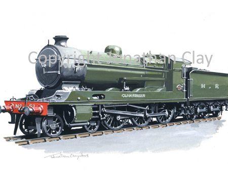 759 HR Clan 4-6-0 No.51 Clan Fraser