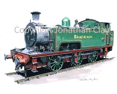 762 Andrew Barclay 0-6-0T No.17 'Braeriach'