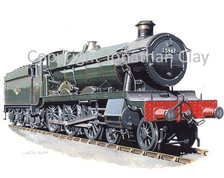 772 GWR Hall 4-6-0 No.5967 Bickmarsh Hall (BR Green)