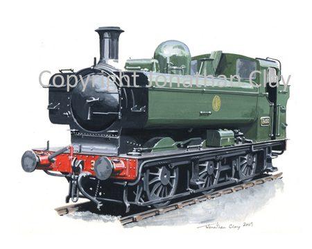 773 GWR Pannier No. 3650