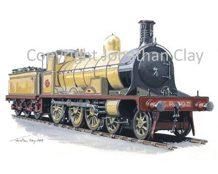793 Highland Railway 'Jones Goods' 4-6-0 No.103
