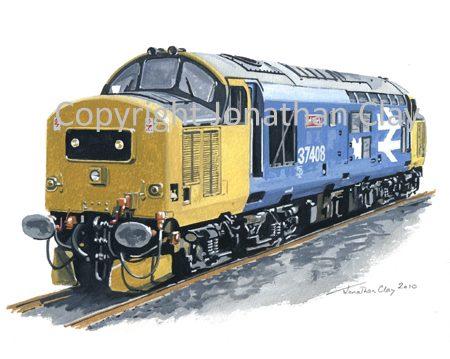 805 Class 37 Diesel No. 37408