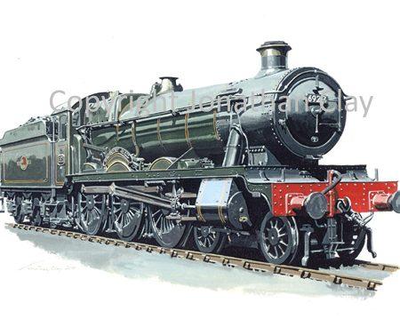 811 GWR Hall 4-6-0 No.6928 Underley Hall (BR Green)