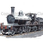 826 Cambrian Railways Sharp Stewart 4-4-0 No.21