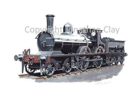 826 Cambrian Railways Sharp Stewart 4-4-0 No.21