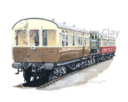 827 GWR Auto-Train with Pannier Tank