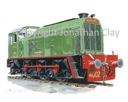 829 MSC Hudswell Clarke Diesel Locomotive No.4002 'Arundel Castle'