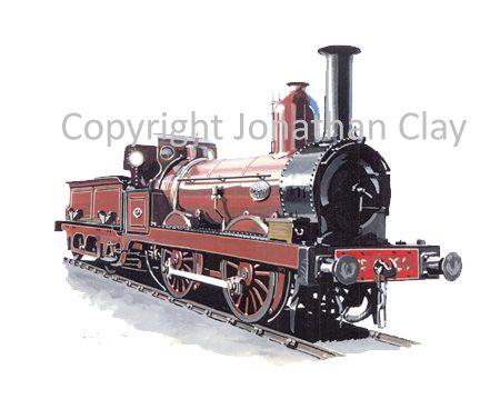 832 Furness Railway 0-4-0 No.20