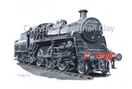 833 BR Standard Class 3 2-6-0 No.77001