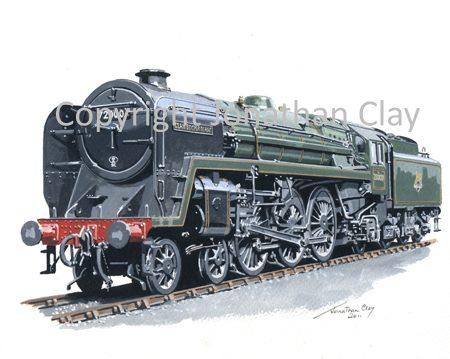 834 BR Standard Class 6 No.72000 Clan Buchanan