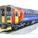 838 East Midland Trains Class 153 Single Unit No.153 311