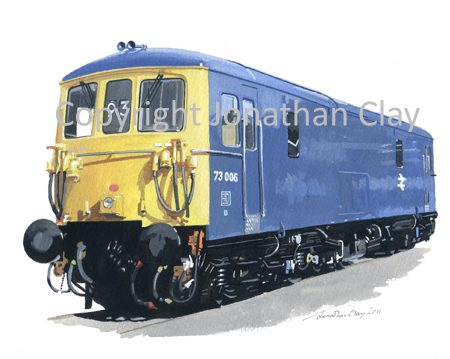 839 Class 73 Electro-Diesel No. 73 006