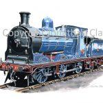 853 Caledonian Railway 812 Class 0-6-0 No.828