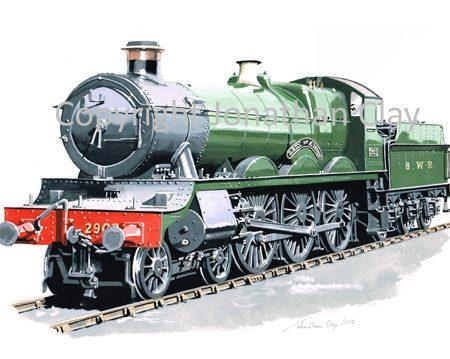 865 GWR Saint 4-6-0 No.2903 Lady of Lyons