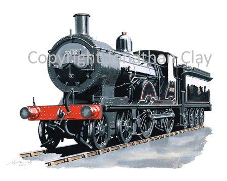 873 Ex LSWR Class T9 4-4-0 No.30120