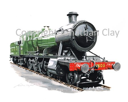 891 GWR 28xx 2-8-0 No.3803 (GWR Green)