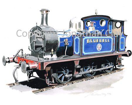 893 Ex SECR P Class 0-6-0T No.323 'Bluebell'