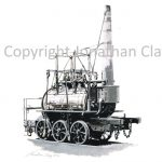 896 Beamish Museum replica Steam Elephant