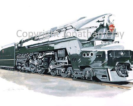 903 Pennsylvania Railroad T1 No.5550