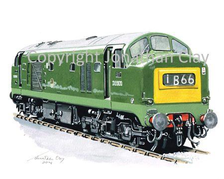 905 Class 22 Baby Deltic No. D5903