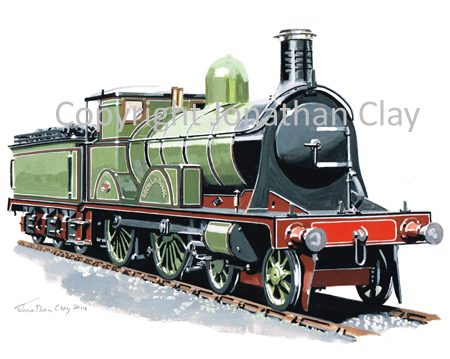 909 HR 'Loch' class 4-4-0 No. 133 'Loch Laoghal'