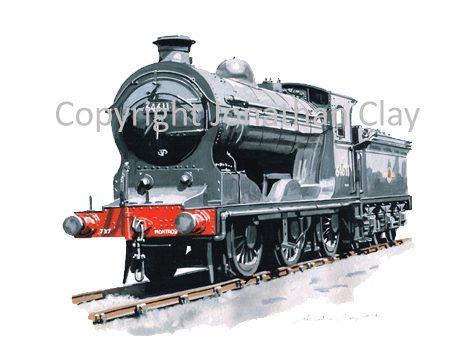 912 Ex NBR Class J37 0-6-0 No.64611
