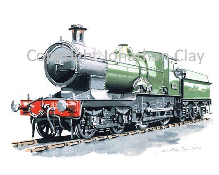 915 GWR  Bulldog Class 4-4-0 No. 3358