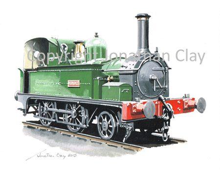 923 Weston Cleveland and Portishead Railway 2-4-0T 'Hesperus'