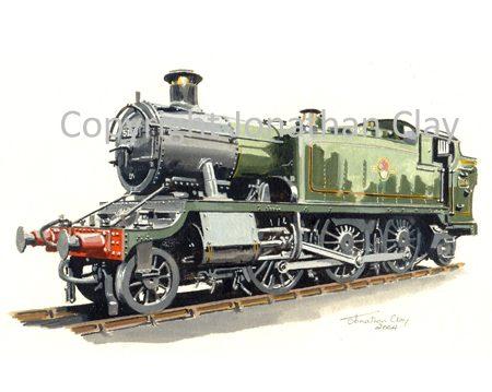 938 GWR Large Prairie No.5156 (BR Green)