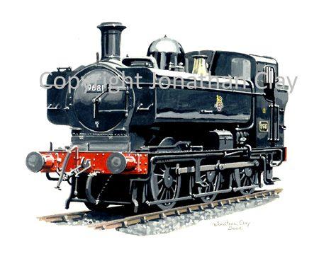 940 GWR Pannier No.9681
