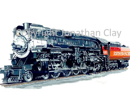 941 Southern Pacific Class MT4 4-8-4