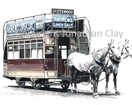 1892 Newcastle Horse Tram