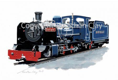029B Bure Vally Railway 2-6-2 No.6 Blickling Hall